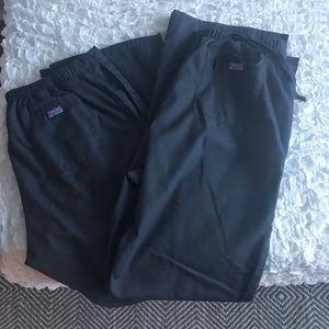 Cherokee Workwear TALL Scrub Pants Lot of 2